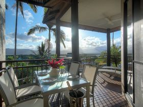 Point 8 Villa 2 bedroom balcony views Luxury Accommodation Port Douglas