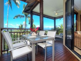 Port Douglas Accommodation Point 8 Villa 2 bedroom balcony