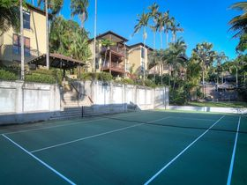 Port Douglas Accommodation Point 8 Villa 2 bedroom tennis court